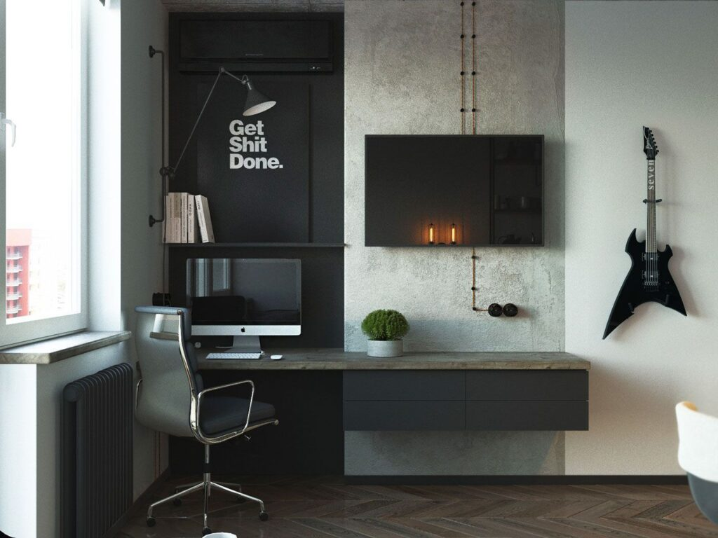 mens-bedroom-desk-idea